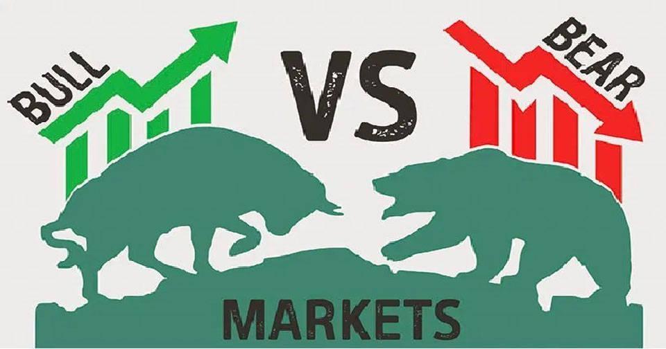 thị trường gấu và thị trường bò tót
